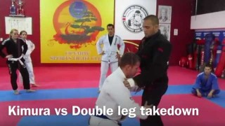 Counter a Double Leg Takedown With An Unstoppable Kimura! – Gile Huni