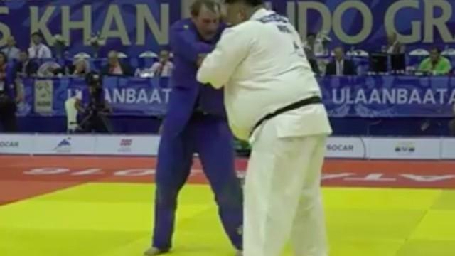 180kg Judo Player Breaks Opponent's Ribs w/ Throw