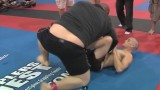 Jeff Glover vs 6'4′ 400 lbs BJJ Black Belt Sergio Farnes