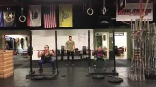 Gabi Garcia & Cris Cyborg Weight Training Together