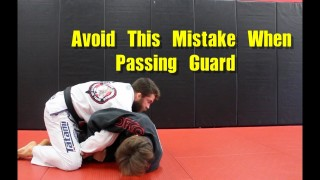 Getting Caught in Kimura when Passing Guard – Nick Albin