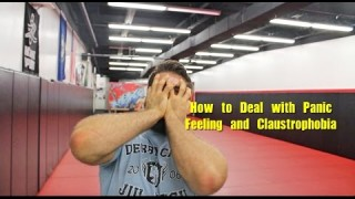 Panic Feeling and Claustrophobia as a BJJ White Belt ( 2 Tips )