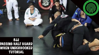 Passing Half Guard when Under Hooked Tutorial