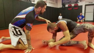 Peruvian Necktie to Gator Choke and Armbar