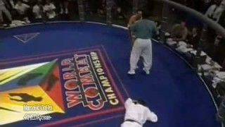 Renzo Gracie vs Judo Olympic medalist
