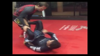 Robson Moura shows leg take down to armlock and rolling shoulder lock from turtle
