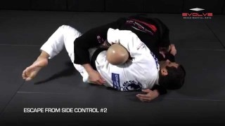 5 Brazilian Jiu-Jitsu Escapes From Side Control – Evolve