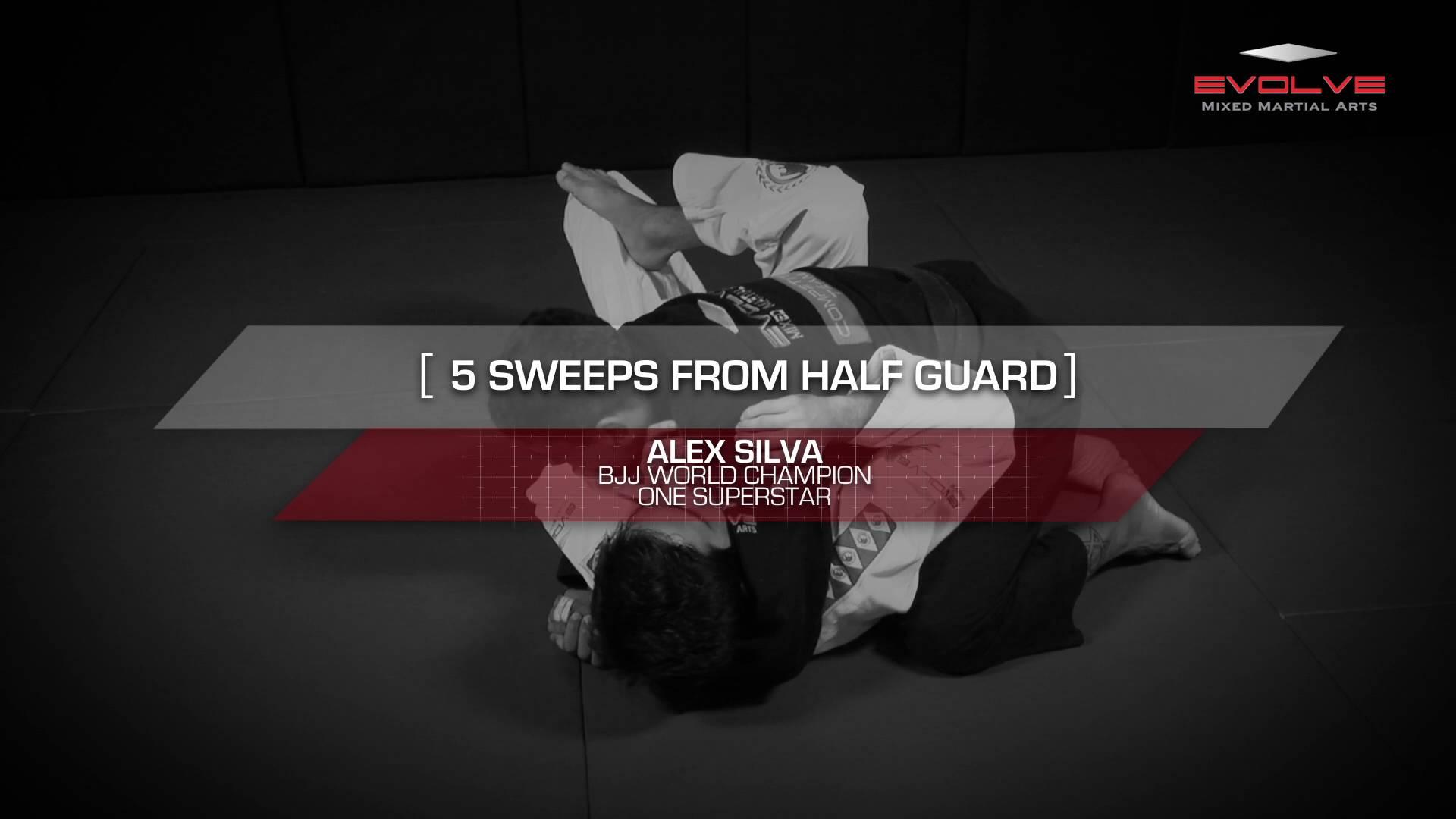 5 Essential Brazilian Jiu-Jitsu Half-Guard Sweeps | Evolve University