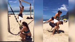 Beach Strength And Conditioning – Mackenzie Dern