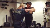 BJJ Cop Using Kimura For Weapon Retention