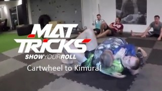 Cartwheel Guard Pass to Sidemount and Kimura Submission – Andreas Resch