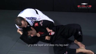 Counter Choke From Kimura – Evolve University