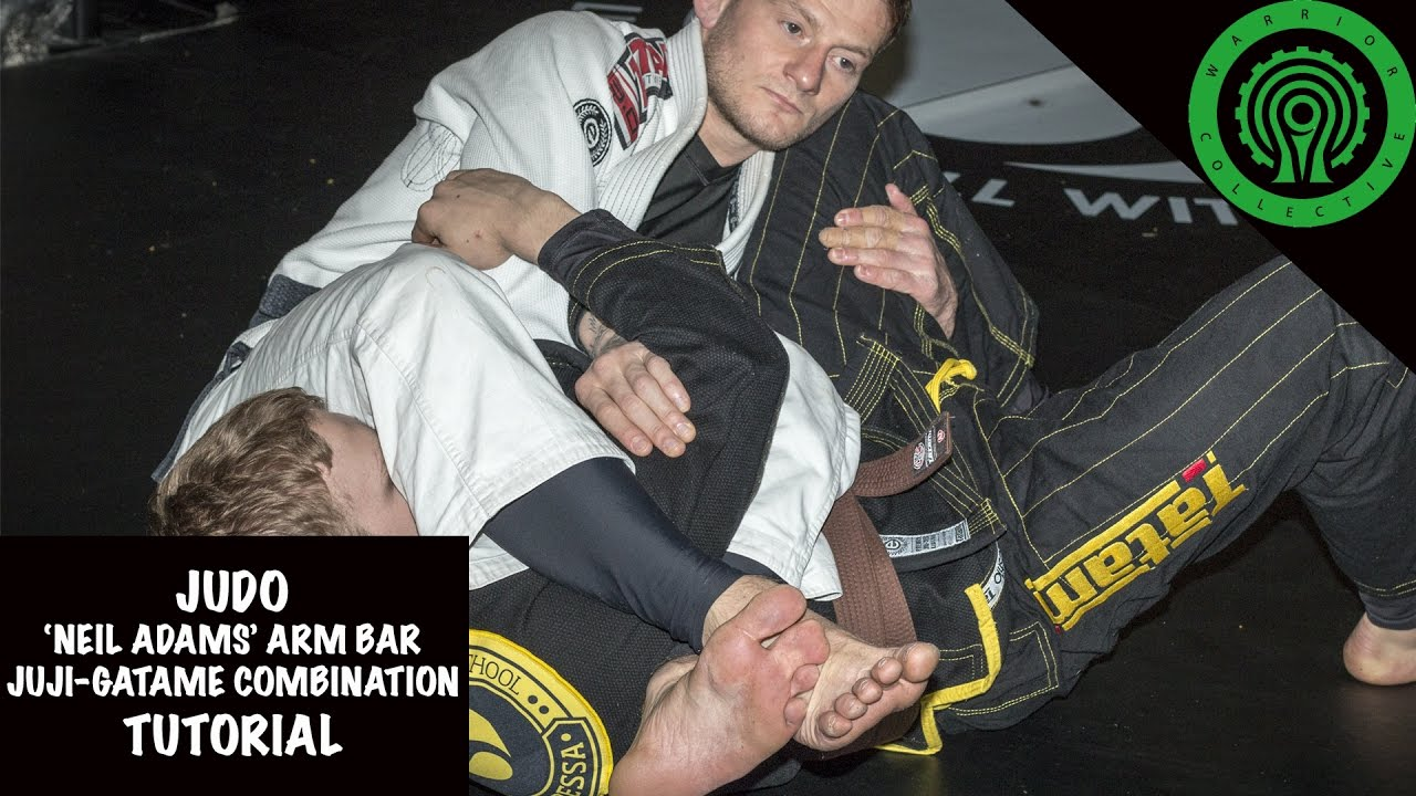 """Neil Adams"" Arm Bar/Juji-Gatame roll Combination Tutorial"