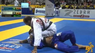 Over Under Pass To Side Control to Triangle- Bernardo Faria