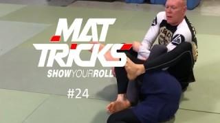 Pedro Sauer Black Belt Demonstrates Full Mount Pressure