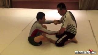 Renzo Gracie vs. Paulo Miyao Rolling