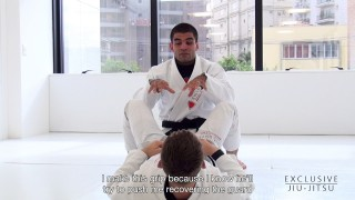 Stack Pass from the Half Guard – Vitor Shaolin