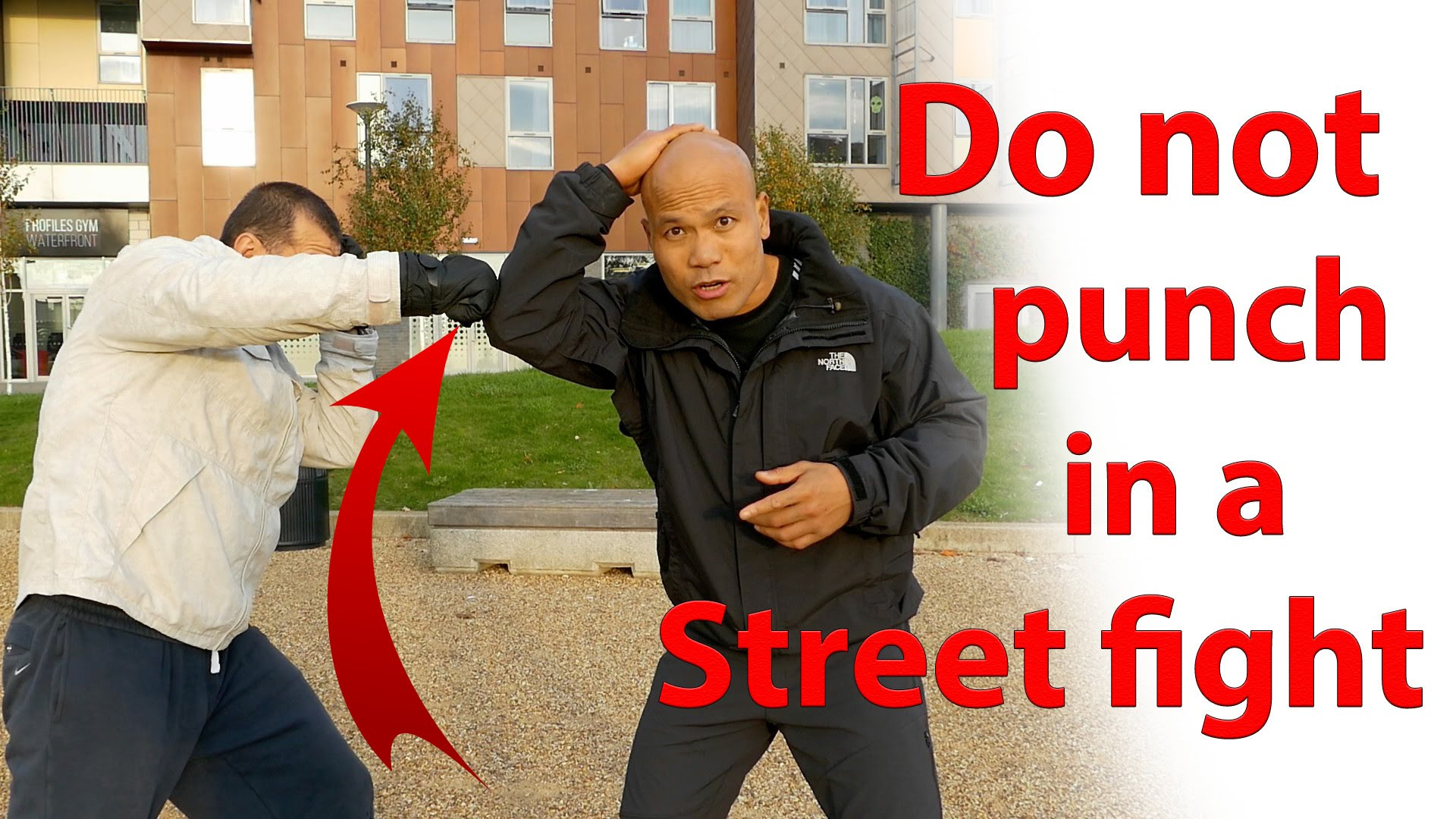 Why You Don't Punch in a Street Fight
