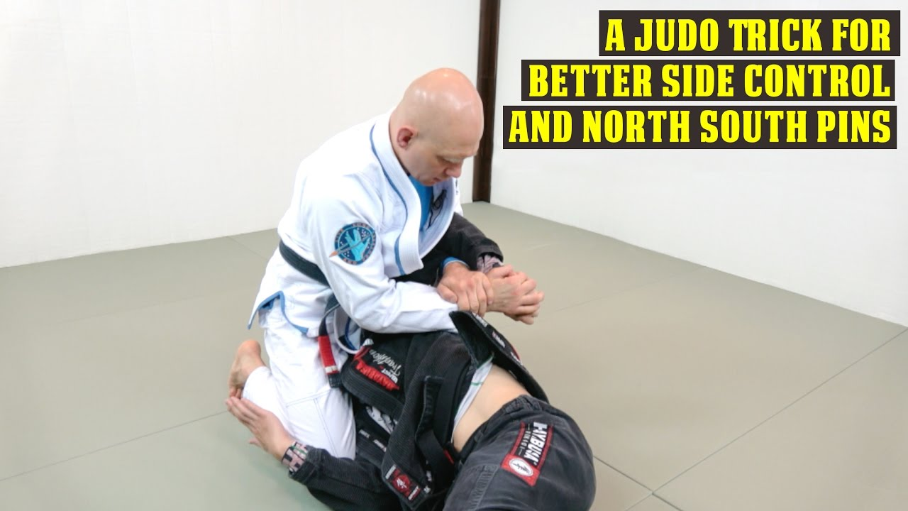 A Judo Trick for Better Side Control and North-South Pins