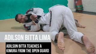 Adilson Bitta Lima teaches a kimura from the open guard