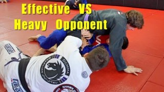 Foot Slide BJJ Mount Escape w/ Coaching (Great VS Heavy People)