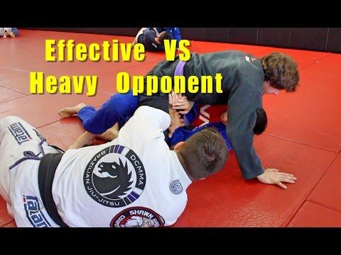 Foot Slide BJJ Mount Escape w/ Coaching (Great VS Heavy People)