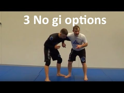 Judo Olympian Shows 2 No Gi Takedowns & Nasty Submission From An Overhook