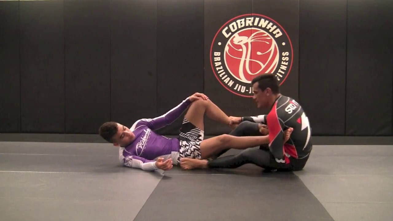 No Gi Single Leg X Sweep – Cobrinha