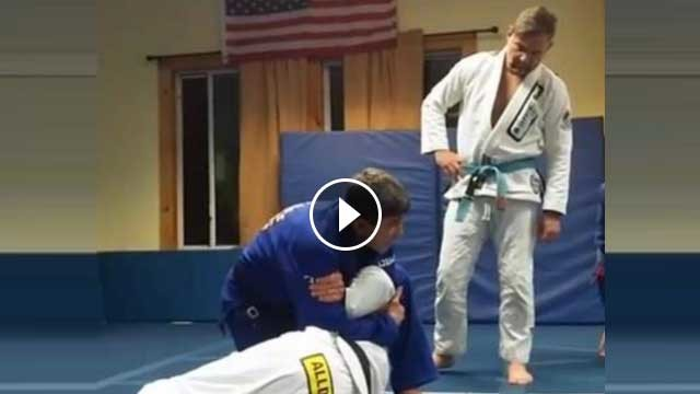 Forearm crusher from failed Kimura- Marcelo Alonso