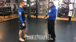 Double Leg Takedown For BJJ – Kent Peters