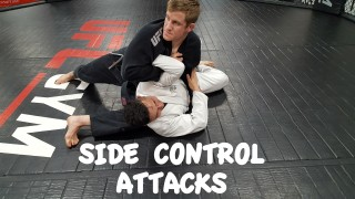 Interesting Shoulder Lock from Side Control – Greg Walker