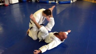 Stack Pass To Choke Submission- Henry Akins