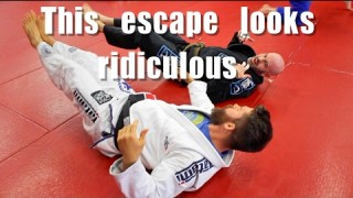 Ugly BJJ Mount Escape that Actually Works