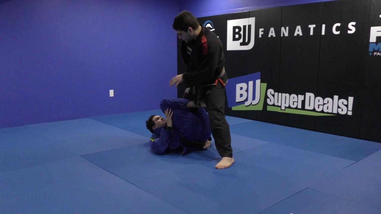 "Vinicius ""Trator"" Ferreira shows How to Pass the Single Leg X Guard"