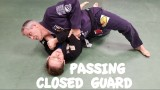 2 CLOSED GUARD PASSES: Inside Knee Slide and Inside Knee Jump with Professor Ron Manes