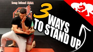 3 Effective Ways to Stand Up in a Grappling Match