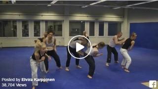 The Jiu jitsu Dance