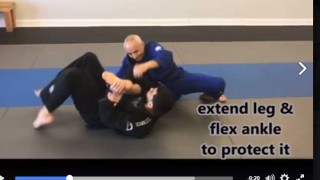 Rolling Toe Hold Counter To Armbar – Karel Silverfox Pravec
