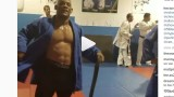 Hector Lombard Training some Judo throws