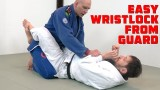 An Easy Wristlock from the Guard – Stephan Kesting & Jeff Mesazros