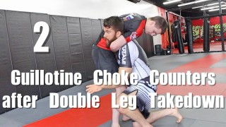 Angles to Counter the Guillotine Choke in BJJ