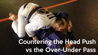 Bernardo Faria Shows How to Counter the Head Push vs Over-Under Pass