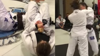 BJJ Girl Punches Other Girl in Competition Then Gets Promoted to Blue Belt