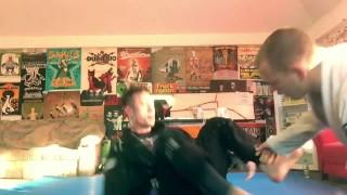 BJJ Roll: Trivium Rocker Purple Belt Matt Heafy vs MMA Fighter
