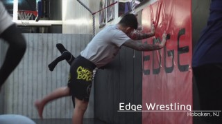 Dillon Danis Training Wrestling at Edge Hoboken