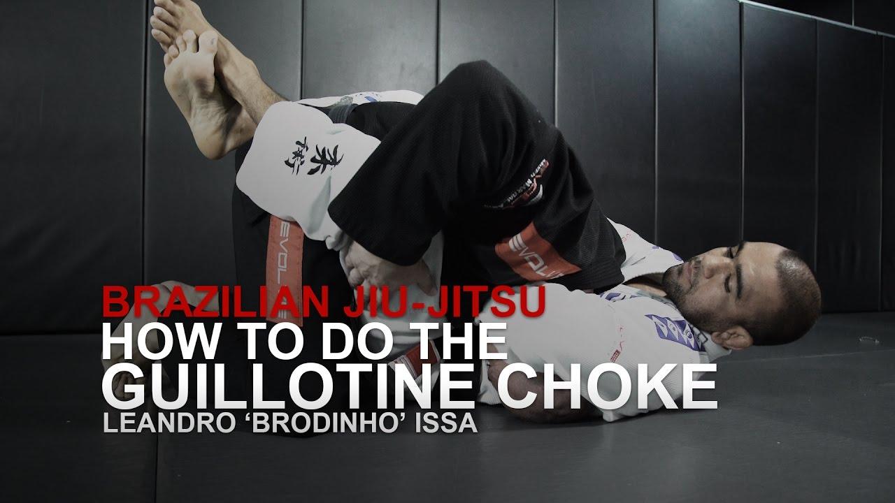 How To Do A Basic Guillotine Choke | Evolve University