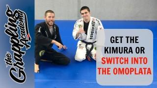 Jean Machado – Get the KIMURA Or Switch into an Omoplata!