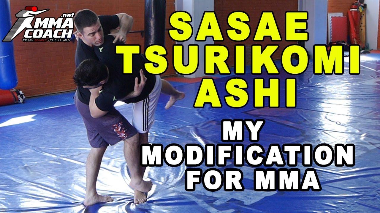 Judo's 'Sasae Tsuri-Komi Ashi' Modification For MMA & No Gi Grappling