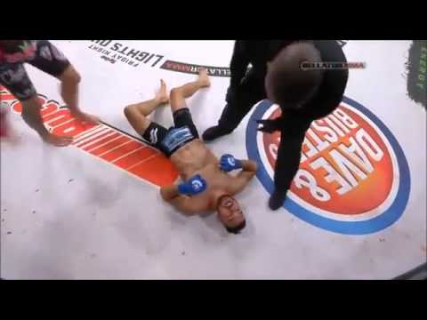 MMA Fighter Does The Unthinkable To Prove That His Opponent is Out
