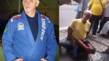 72 year old Jiu-Jitsu Coral Belt Beats Up Thief